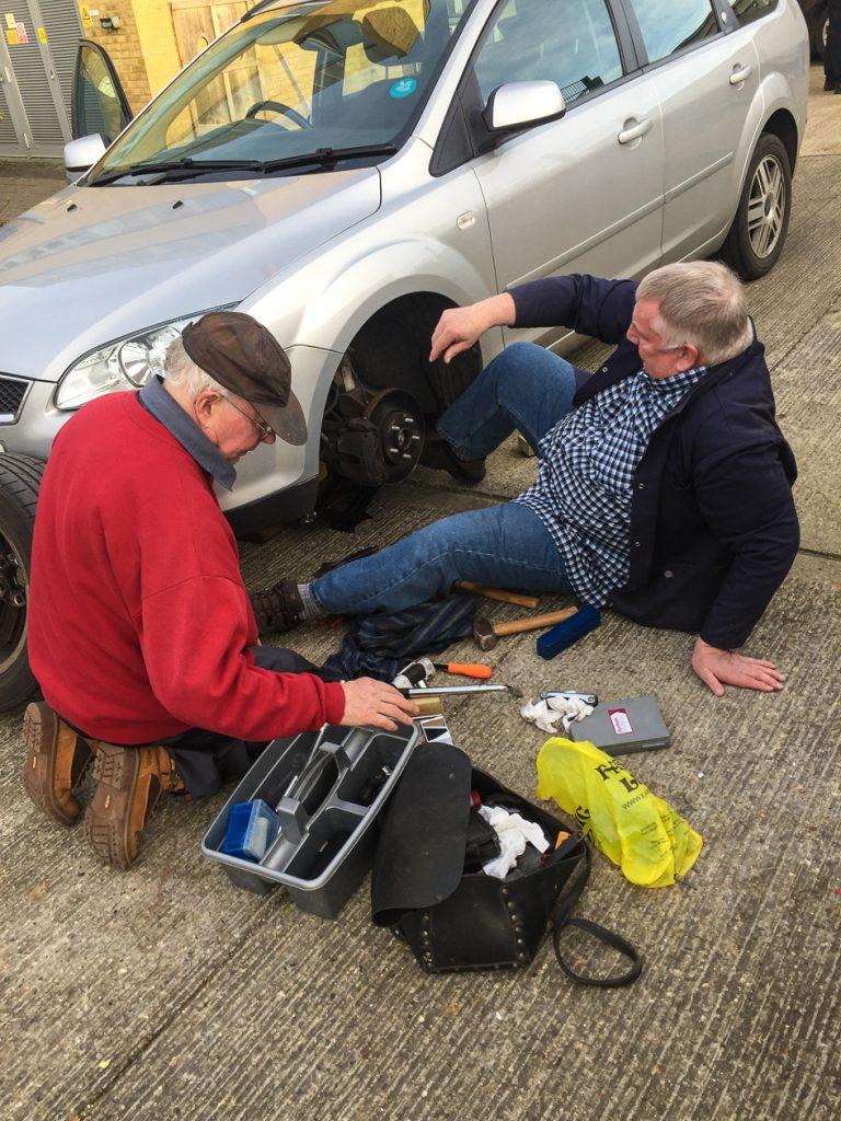 Fix car brakes