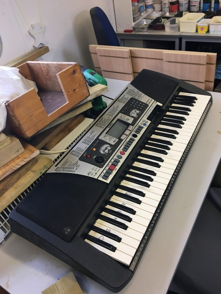 Musical keyboard refurbishment